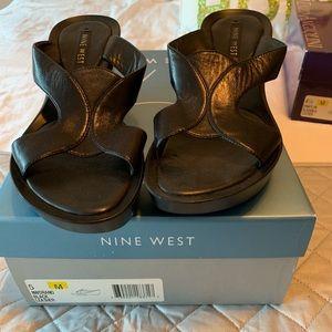 Nine West leather sandals